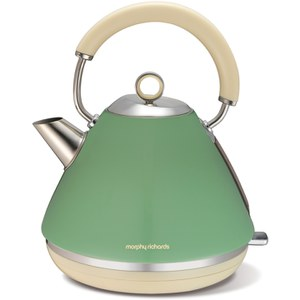 Morphy Richards 102011 Pyramid Refresh Kettle (Lid & Base) - Green