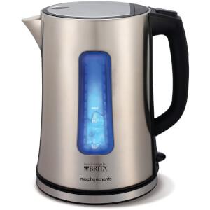 Morphy Richards 43960 BRITA Accents Filter Jug Kettle - Silver