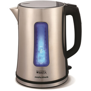 Morphy Richards 43960 BRITA Accents Filter Jug Kettle - Silver