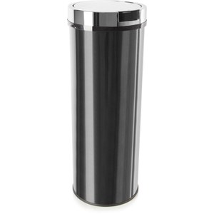 Morphy Richards 974141 Round Sensor Bin - Black - 50L
