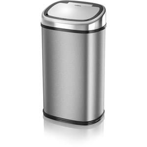 Tower T80901 58L Square Sensor Bin - Silver