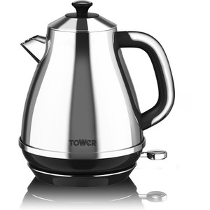 Tower TAIS01 Crystal Kettle - Silver