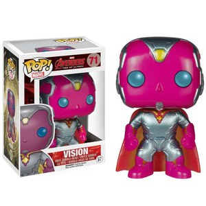 Marvel Avengers Age Of Ultron Vision Metallic Limited Edition Funko Pop! Figuur