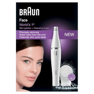 Braun 810 Facial Epilator and Cleansing Brush: Image 2