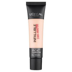 L'Oréal Paris Infallible Matte Foundation - 10 Porcelaine