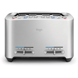 Sage BTA845UK The Smart Toast 4 Slice Toaster