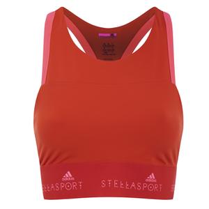 adidas Women's Stella Sport Gym Bra - Orange