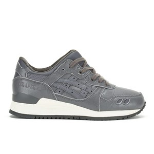 Asics Gel-Lyte III Trainers - Grey/Grey