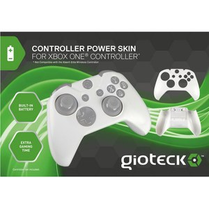 Power Skin Gioteck Xbox One -Blanc