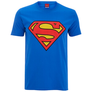DC Comics Superman Logo Heren T-Shirt - Koningsblauw