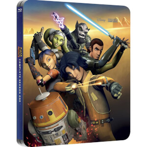 Star Wars Rebels : Saison 1 - Steelbook d'édition limitée exclusive Zavvi (Édition UK)