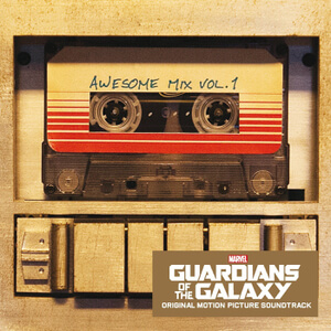 Guardians of The Galaxy: Awesome Mix - Vol. 1 - The Original Soundtrack OST (1LP) - Black Vinyl