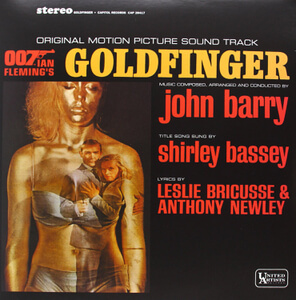 Goldfinger - The Original Soundtrack OST (1LP) - Black Vinyl