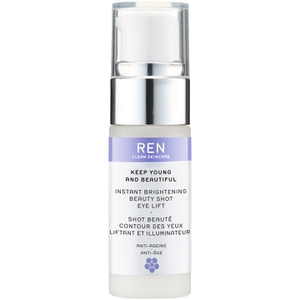 Keep Young and Beautiful™ Instant Brightening Beauty Shot Eye Lift de REN (15ml)