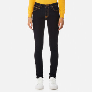 Nudie Jeans Skinny Lin Jeans - Dry Deep Orange