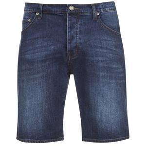 Cheap Monday Men's Line Denim Shorts - Echo