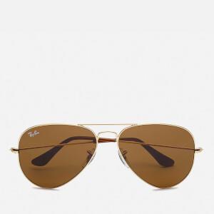 Ray-Ban Aviator Large Sunglasses 58mm - Metal Gold