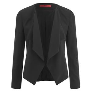 HUGO Women's Amalys Smart Jacket - Black