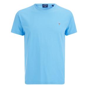 GANT Men's Original Solid T-Shirt - Aquarius Blue