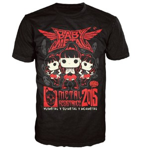 Babymetal Rock Poster Pop! T-Shirt - Black