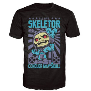 Master of the Universe Skeletor Funko Pop! T-Shirt - Black