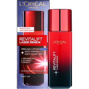 Loción exfoliante Laser Renew Night Peeling Lotion de L'Oréal Paris Revitalift 125 ml