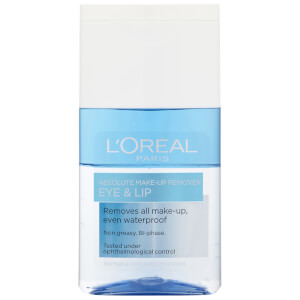 Desmaquillante de ojos y labios Absolute Eye and Lip Make-Up Remover de L'Oreal Paris 125 ml