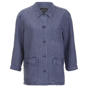 OBEY Clothing Women's Antwerp Jacket - Blue