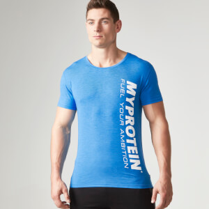 Myprotein Men's Tag T-Shirt - Azul
