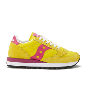 Saucony Women's Jazz Original Trainers - Yellow/Berry