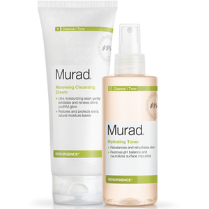 Murad Renewing Cleansing Cream og Hydrating Toner Duo (Værdi £ 50)