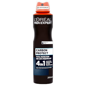 Déodorant Carbon Protect Men Expert L'Oréal Paris 250 ml