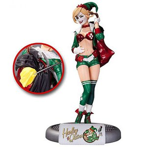 DC Comics Collectibles Batman Harley Quinn Bombshells Statue