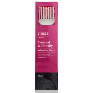 Viviscal Hair Thickening Fibres for Women -hoitopakkaus ‒ musta