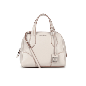 Coccinelle Women's Brad Leather Bowler Bag - Beige