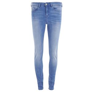 Maison Scotch Women's Haut Jeans Holiday Treat - Blue
