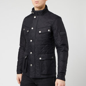 Barbour International Men's Ariel Quilt Jacket - Black