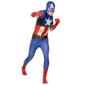 Morphsuit Adulte  - Marvel : Captain America