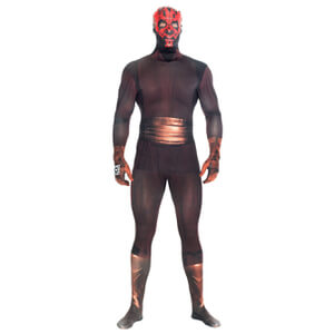 Morphsuit Star Wars Dark Maul -Adulte