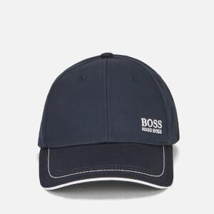 BOSS Green Men's Small Logo Cap - Navy