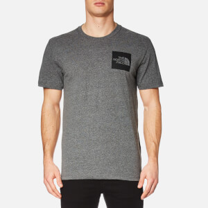 The North Face Men's Fine Short Sleeve T-Shirt - TNF Medium Grey Heather