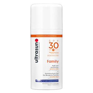 Ultrasun 30SPF Super Sensitive Family Formula (100ml)