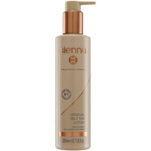 Sienna X Gradual Glowing Self Tan 200ml