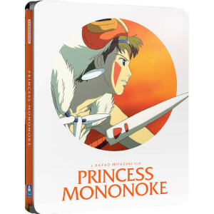 Princess Mononoke - Zavvi UK Exclusive Limited Edition Steelbook (Limited to 2000 Copies)