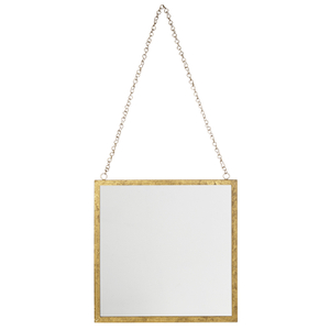 Bark & Blossom Hanging Gold Mirror