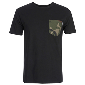 Carhartt Men's Lester Short Sleeve Pocket T-Shirt - Black/Camo