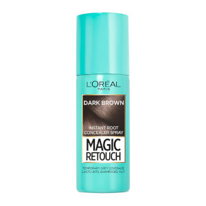 Spray para cubrir las canas Magic Retouch Instant Root Concealer Spray - Castaño de L'Oréal Paris (75 ml)