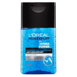L'Oréal Paris Men Expert Hydra Power Refreshing Post Shave Splash (125ml): Image 4