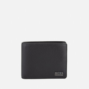 BOSS Hugo Boss Men's Moneme Leather Wallet - Black