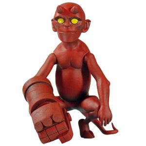 Mondo Baby Hellboy 4 Inch Figure